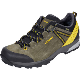 Lowa Ledro GTX Low Shoes Herren oliv/senf